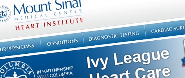 Heart Health Assessment Is Launched by Mount Sinai Medical