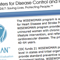 WISEWOMAN offers invaluable services to prevent major health problems