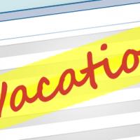 Take Back Vacation