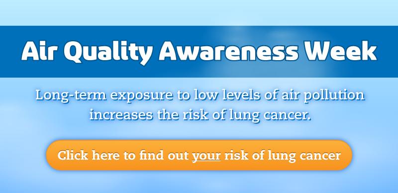 Air Quality Awareness Week & Lung Cancer