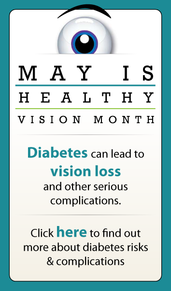 Healthy Vision Month & Diabetes