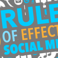 Five Rules of Effective Social Media