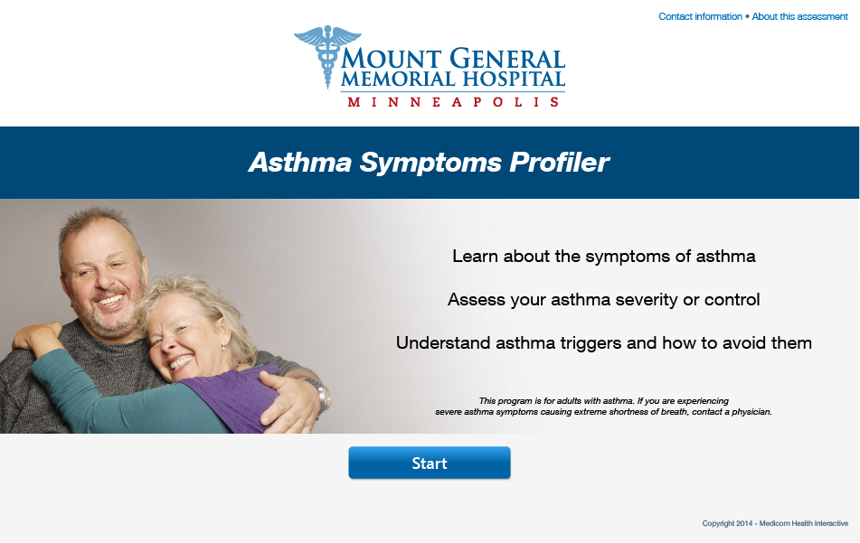 Asthma Symptoms Profiler