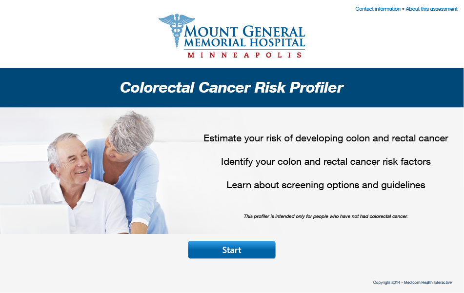 Colorectal Cancer Risk Profiler