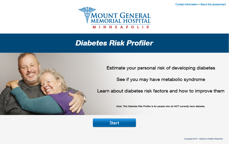 Diabetes Risk Profiler