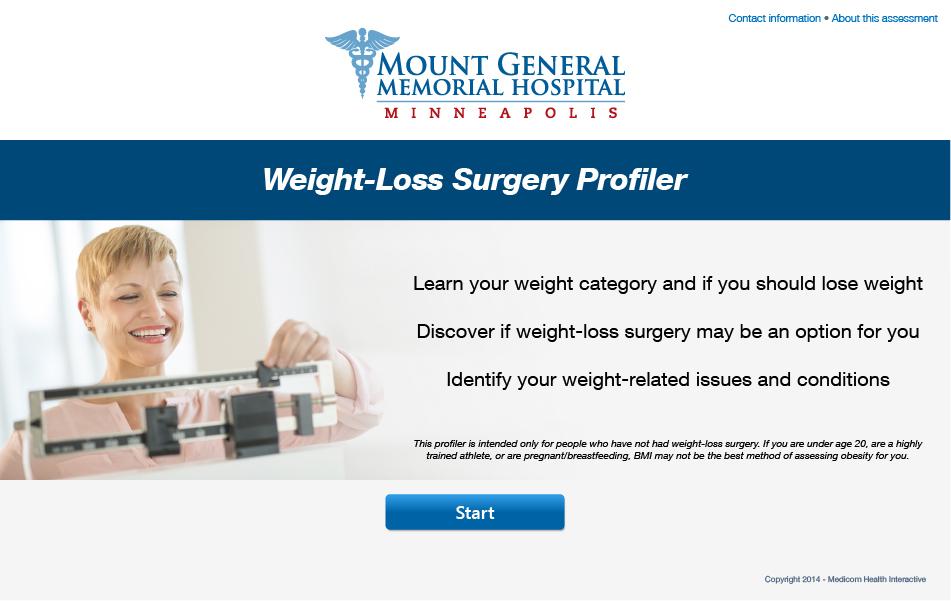 Weight-Loss Surgery Profiler