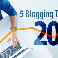 5 Blogging Trends for 2016