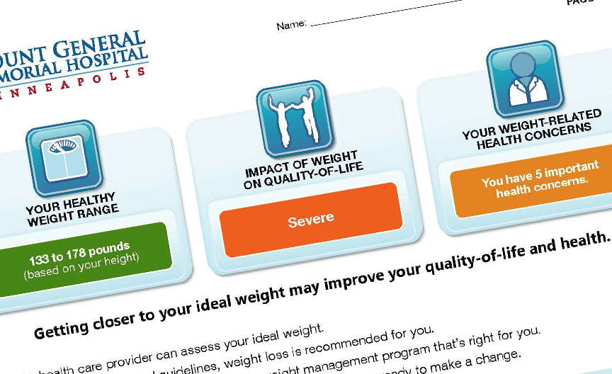 Healthy Weight-Range Profiler