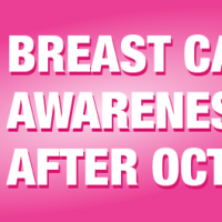 Breast Cancer Awareness After October
