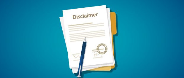 Review Your Legal Disclaimer