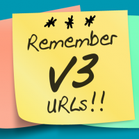 Remember to Update Your v3 Links for Q1