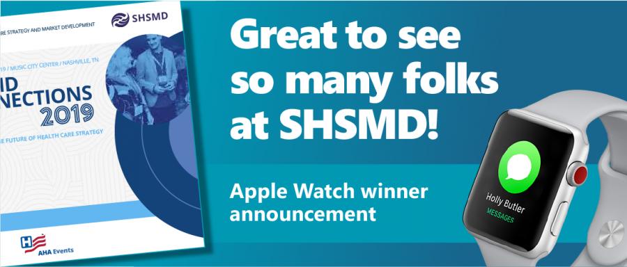 Apple Watch Winners SHSMD