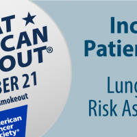 Great American Smokeout 2019 – Drive Lung Cancer Screenings