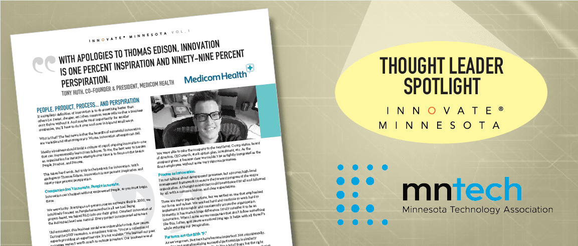 Medicom Health Co-founder Recognized as Local Thought Leader