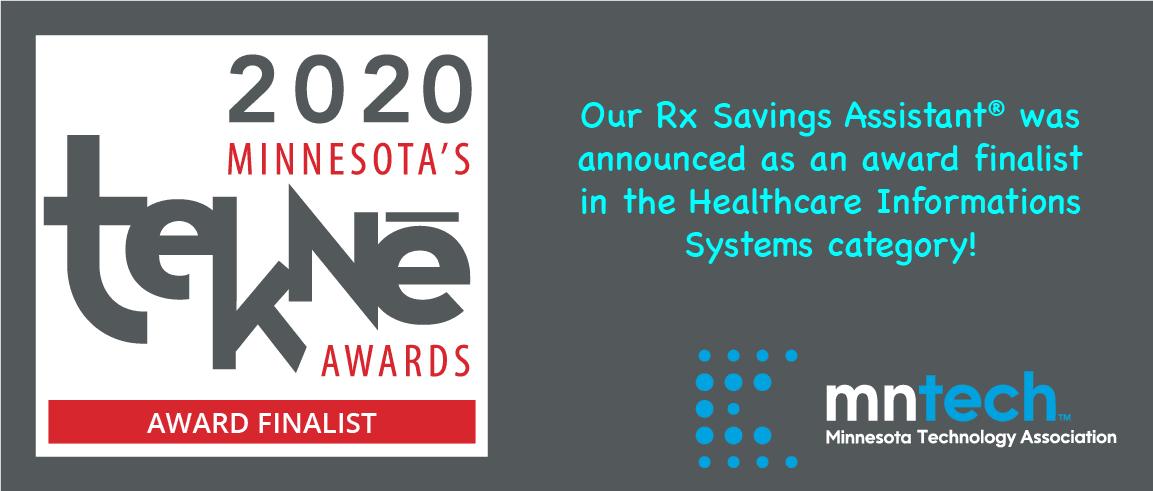 Medicom Health is a 2020 Tekne Award Finalist