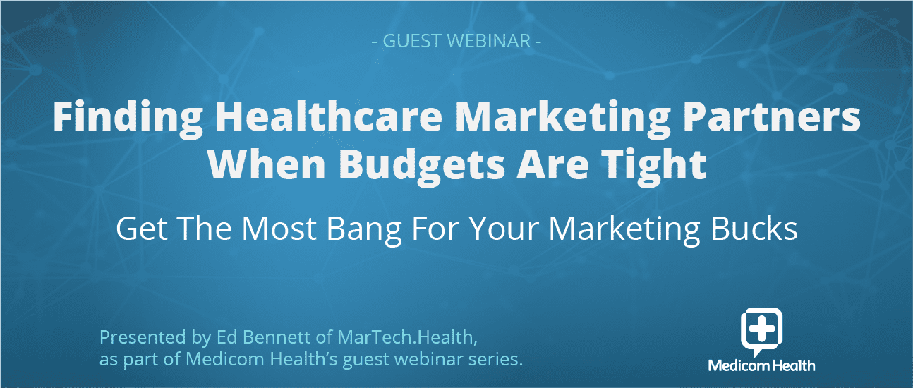Webinar oct 14 MarTechHealth